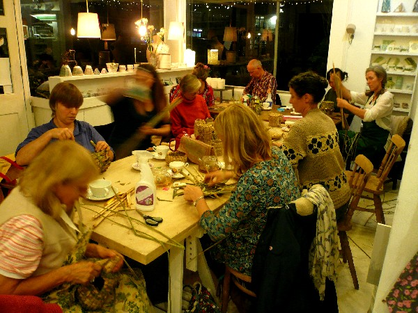 basketry evening classes in Sussex