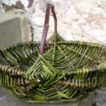 bramble & wild rose frame basket