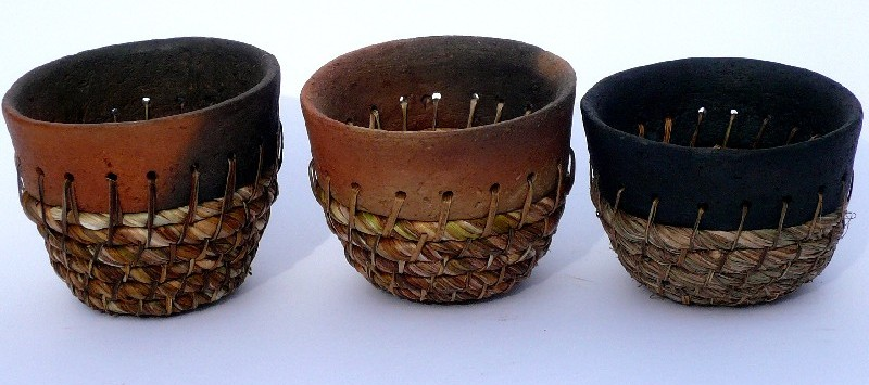 wild clay vessels