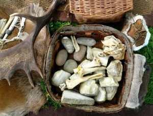 stone and flint tools