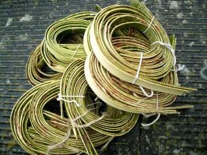 willow bark for weaving