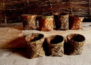 bark basketry at Stonehenge