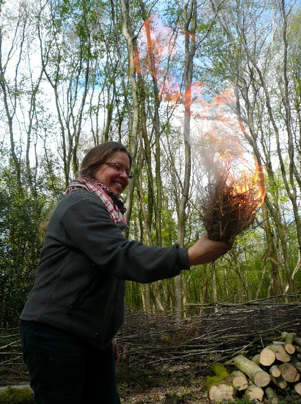 fire-making course sussex
